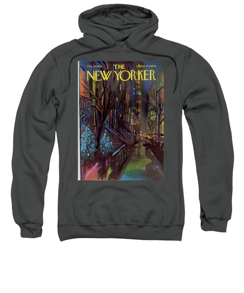Christmas In New York Sweatshirt