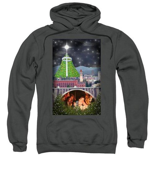 Christmas In Spokane Sweatshirt