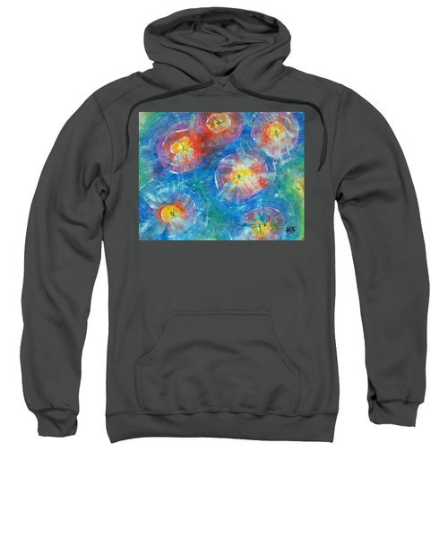 Circle Burst Sweatshirt