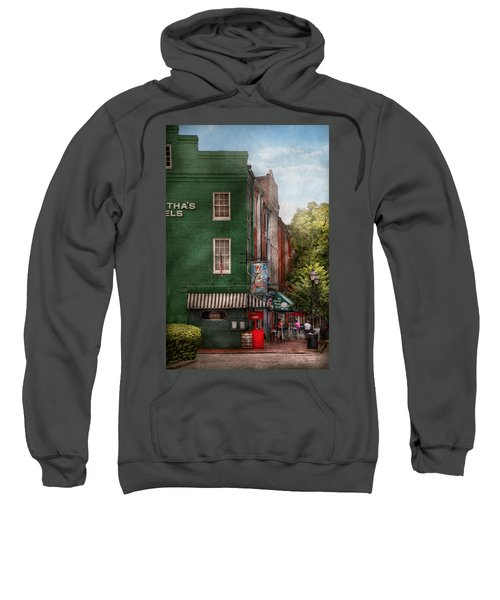 City - Baltimore - Fells Point Md - Bertha's And The Greene Turtle  Sweatshirt