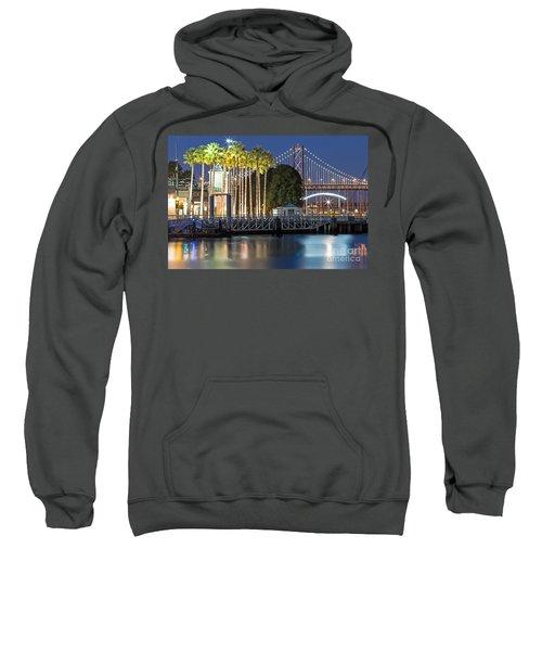 City Lights On Mission Bay Sweatshirt