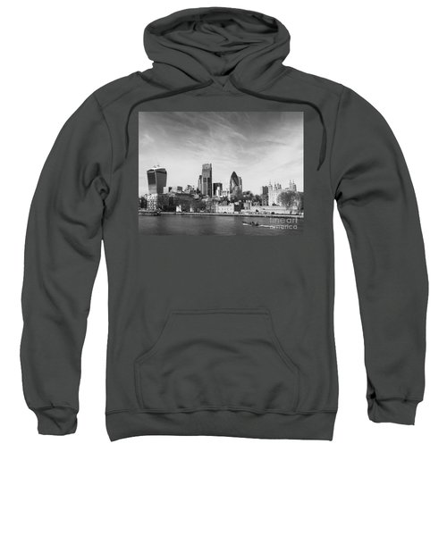 City Of London  Sweatshirt by Pixel Chimp