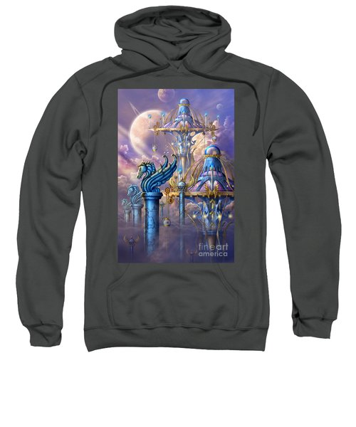 City Of Swords Sweatshirt by Ciro Marchetti