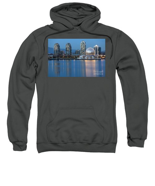 City Skyline -vancouver B.c. Sweatshirt