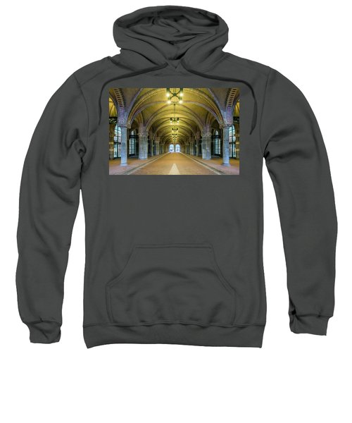 Classical Arches And Columns Sweatshirt