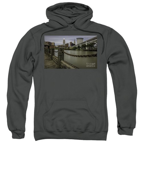 Cleveland Ohio Sweatshirt by James Dean