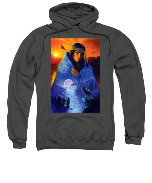 Cloak Of Visions Portrait Sweatshirt