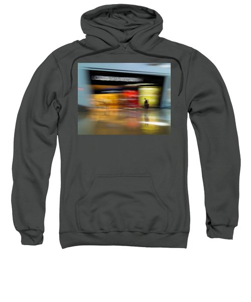 Sweatshirt featuring the photograph Closing In by Alex Lapidus