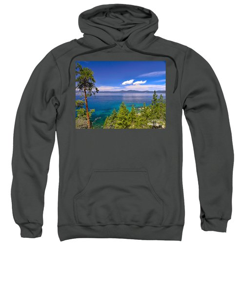 Clouds And Silence - Lake Tahoe Sweatshirt