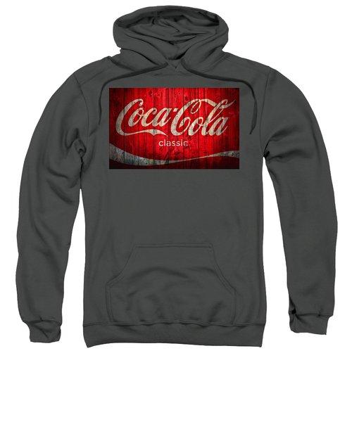 Coca Cola Barn Sweatshirt