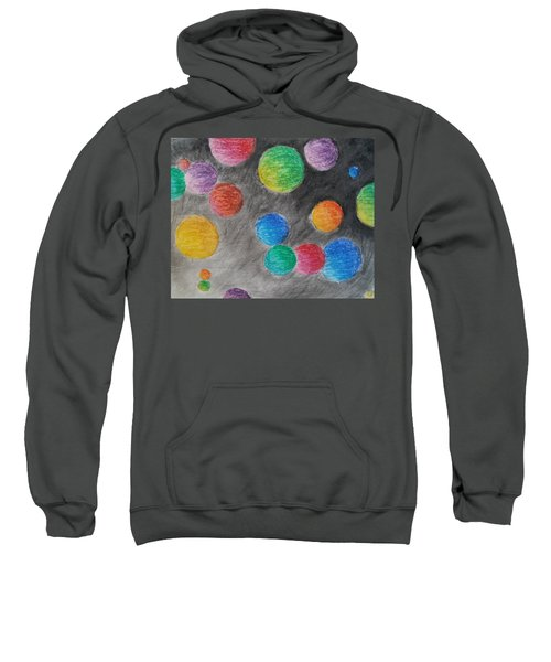 Colorful Orbs Sweatshirt
