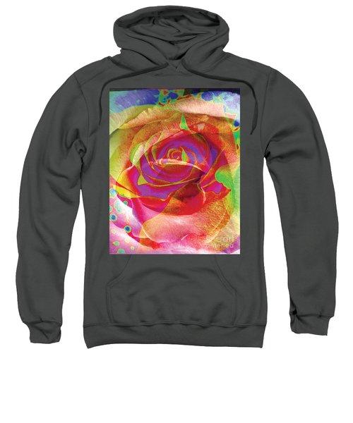 Colorfull Rose Sweatshirt
