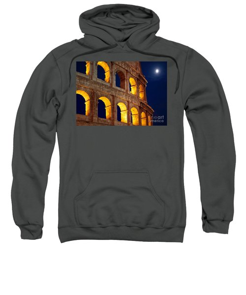 Colosseum And Moon Sweatshirt