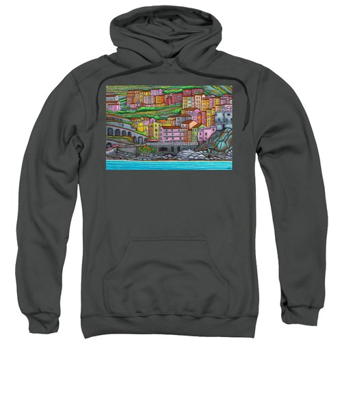 Colours Of Manarola Sweatshirt