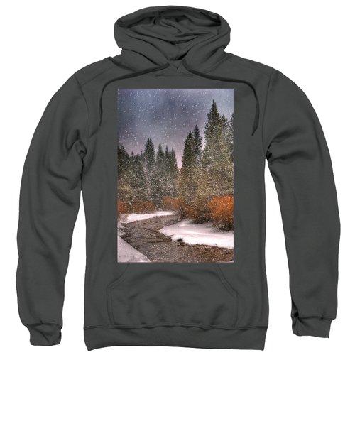Colours Of Winter Sweatshirt