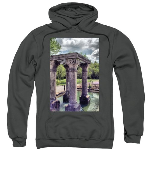 Columns In The Water Sweatshirt