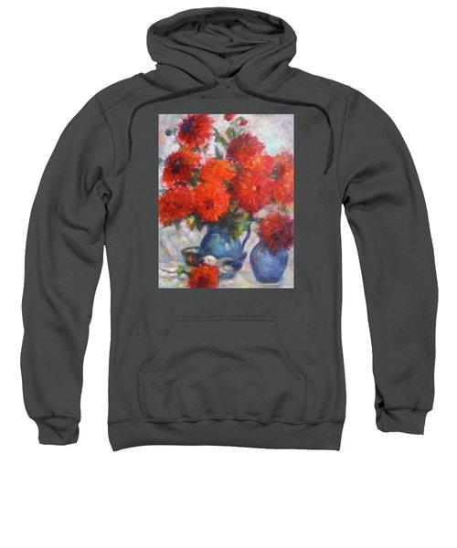 Complementary - Original Impressionist Painting - Still-life - Vibrant - Contemporary Sweatshirt