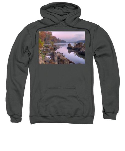 Congaree River At Dawn-1 Sweatshirt