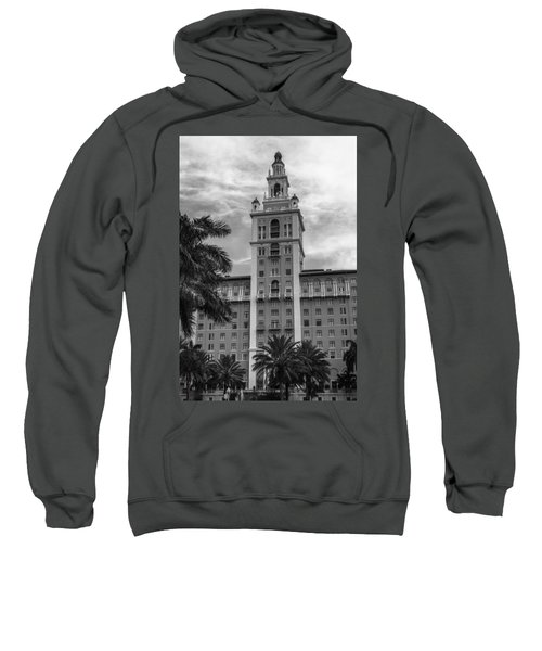 Coral Gables Biltmore Hotel In Black And White Sweatshirt
