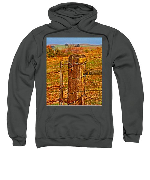 Corner Post At Gate Sweatshirt