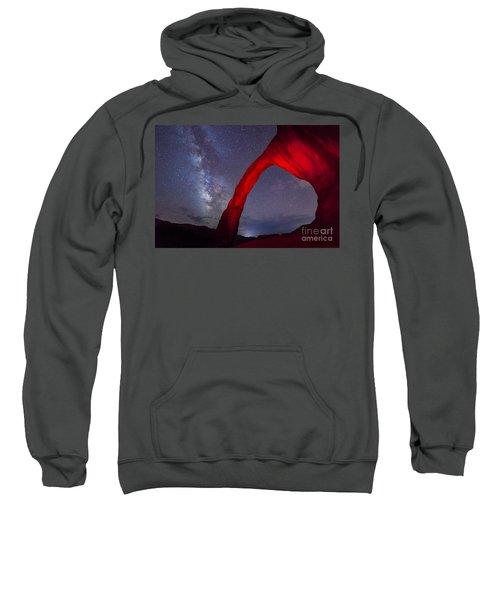 Corona Arch Milk Way Red Light Sweatshirt