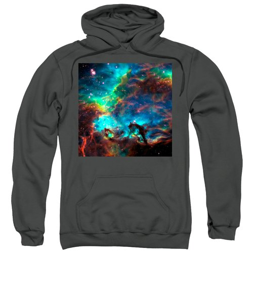 Cosmic Cradle 2 Star Cluster Ngc 2074 Sweatshirt
