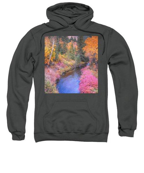 Cotton Candy Creek Sweatshirt