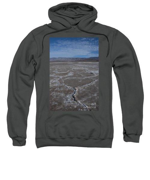 Cottonball Basin At Death Valley Sweatshirt