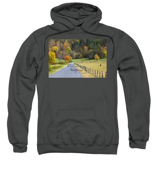 Cow Pasture With Scripture Sweatshirt