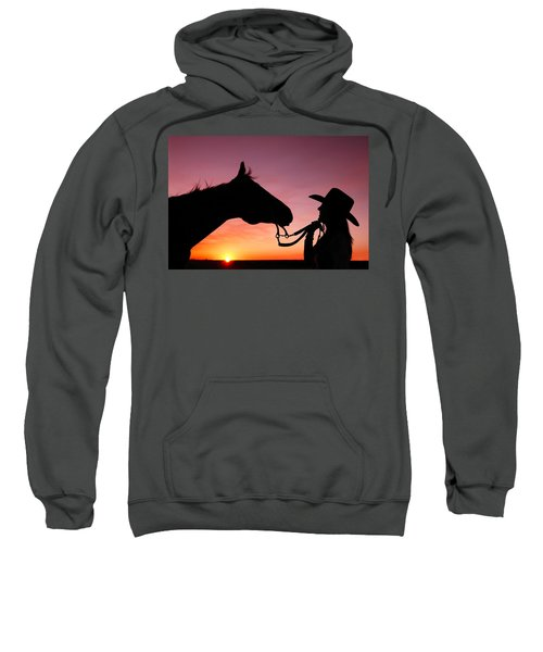 Cowgirl Sunset Sweatshirt