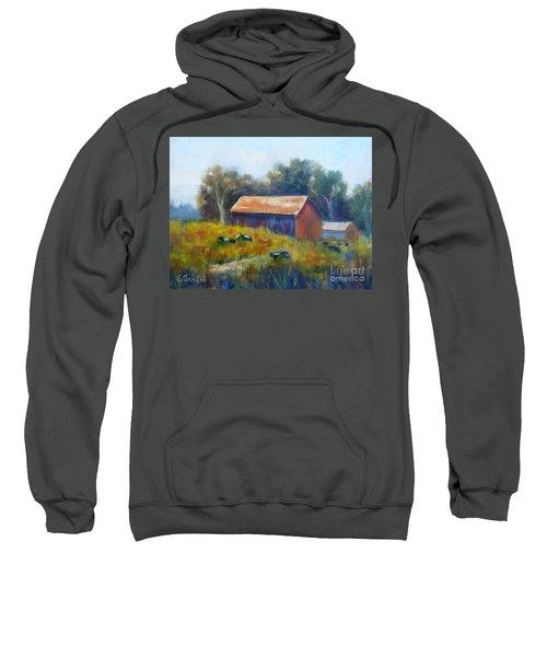 Cows By The Barn Sweatshirt
