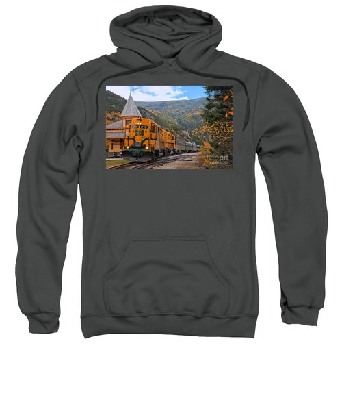 Crawford Notch Train Depot Sweatshirt