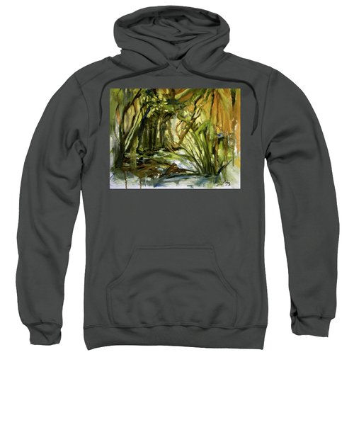 Creek Levels With Overhang Sweatshirt