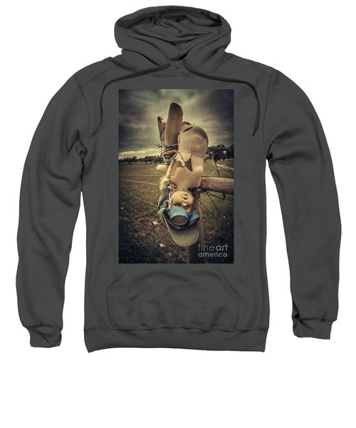 Creepy Broken Doll Sweatshirt