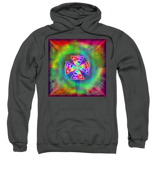 Crescent Pyramids Sweatshirt by Derek Gedney
