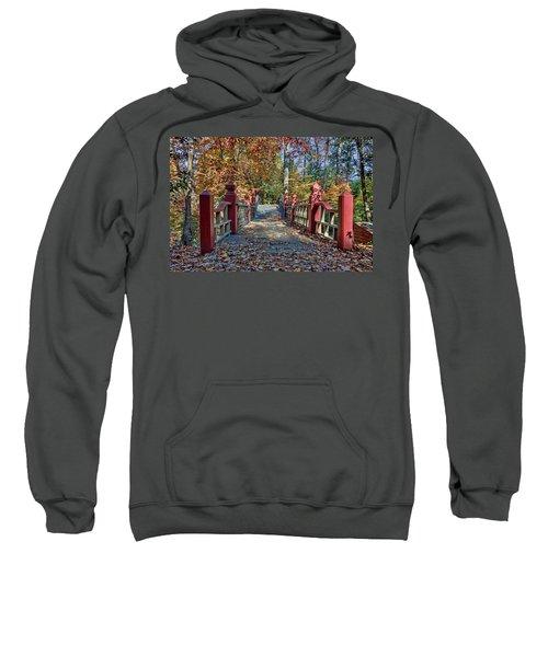 Crossing The Crim Dell Bridge II Sweatshirt