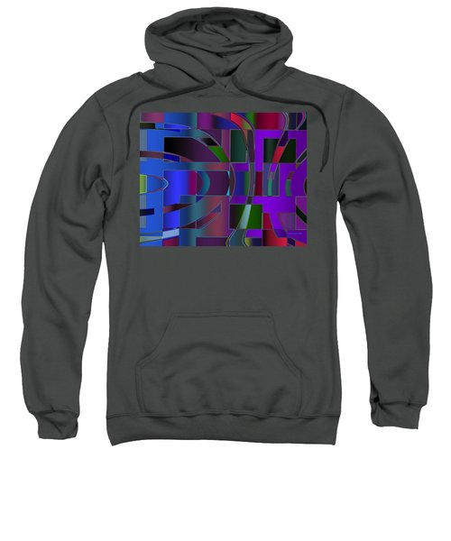 Curves And Trapezoids 2 Sweatshirt