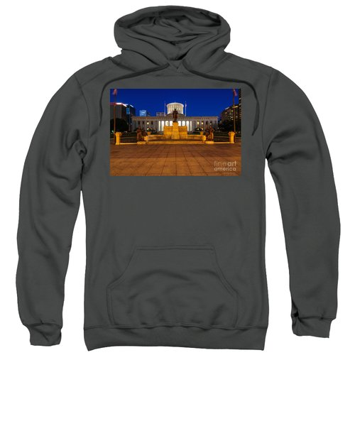 D13l112 Ohio Statehouse Photo Sweatshirt