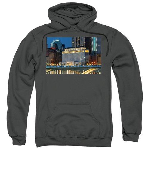 D2l496 Columbus Ohio Night Skyline  Sweatshirt