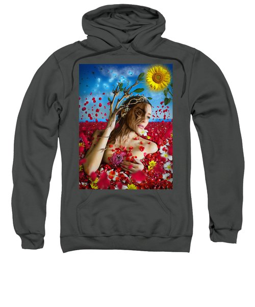 Dafne   Hit In The Physical But Hurt The Soul Sweatshirt