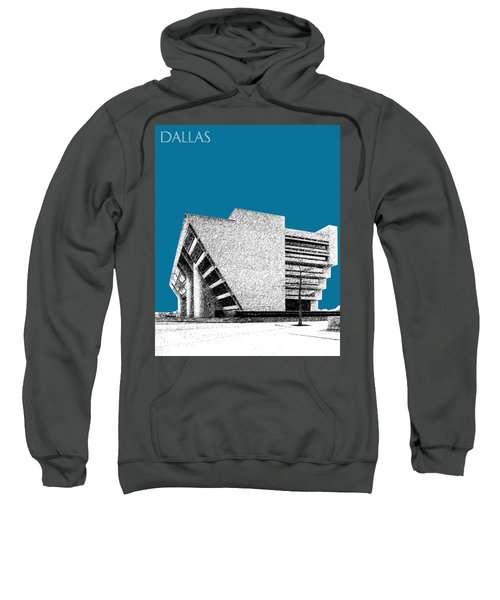 Dallas Skyline City Hall - Steel Sweatshirt