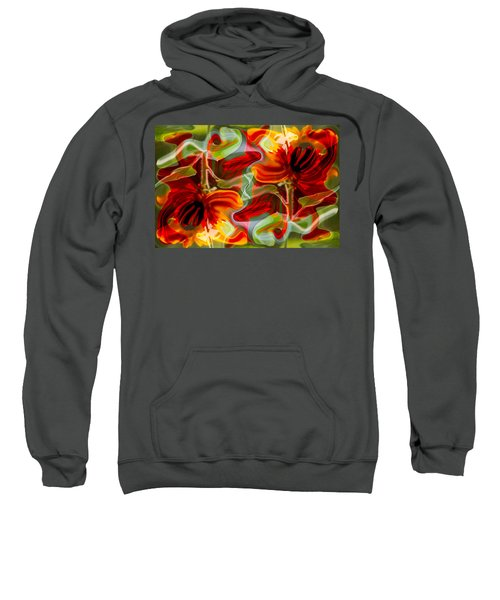 Dancing Flowers Sweatshirt