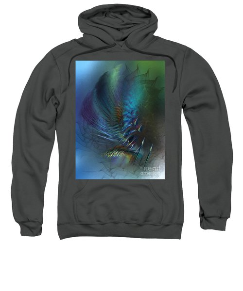 Dancing With The Wind-abstract Art Sweatshirt