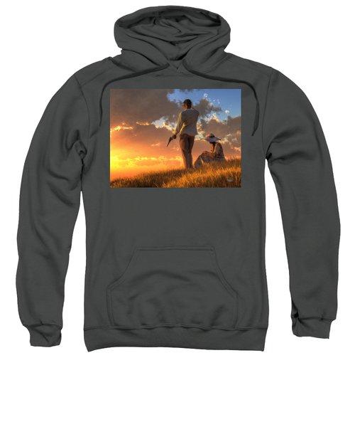 Danger At Sundown Sweatshirt