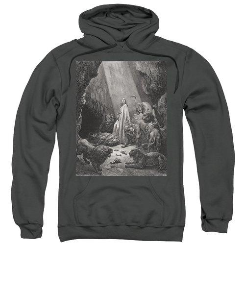 Daniel In The Den Of Lions Sweatshirt