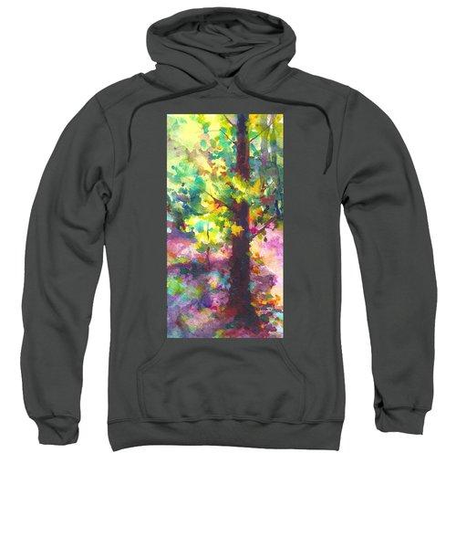Dappled - Light Through Tree Canopy Sweatshirt