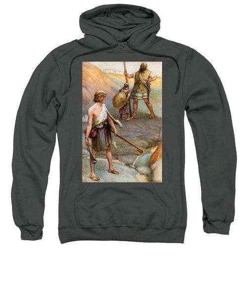 David And Goliath Sweatshirt