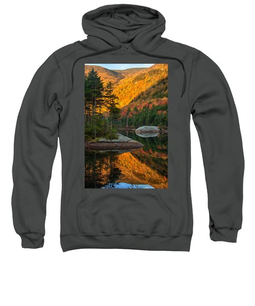 Dawns Foliage Reflection Sweatshirt