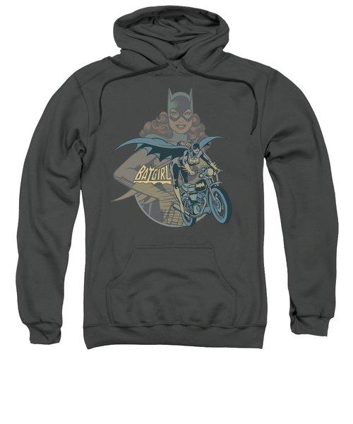Dc - Batgirl Biker Sweatshirt