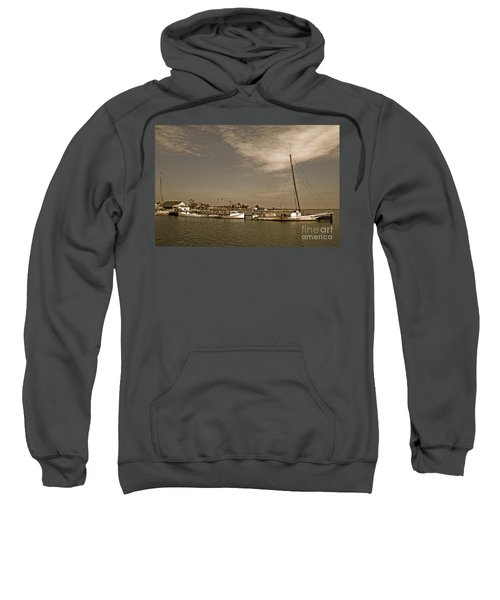 Deal Island Fishing Boats Sweatshirt